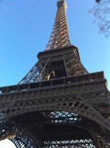 "la Tour Eiffel, an example of ""big c"" culture (personal photo)"